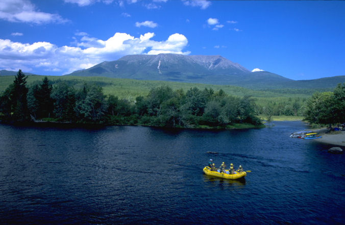 Baxter State Park, Maine.  Photo by Robert J. Brodey