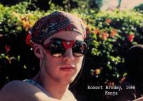 Portrait Robert Brodey - Kenya - 1988
