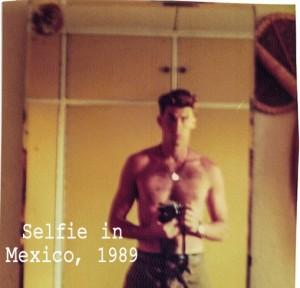 Selfie Guatemala - Robert Brodey 1988